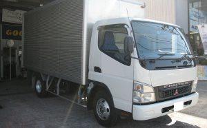 三菱キャンター2トントラック車にブリヂストンタイヤ、デュラビスM804を装着しました[205/85R16 117/115L]