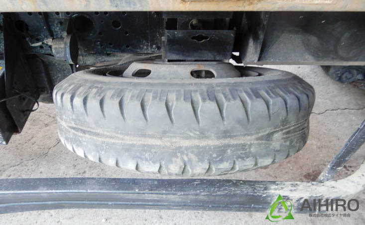 ダンプ タイヤ組み換え チューブ リング付き