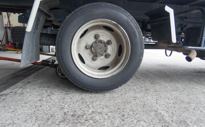 積載車 ホイール 相広タイヤ