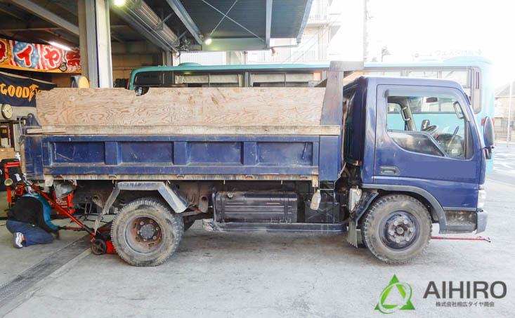 リング付きホイール トラック タイヤ
