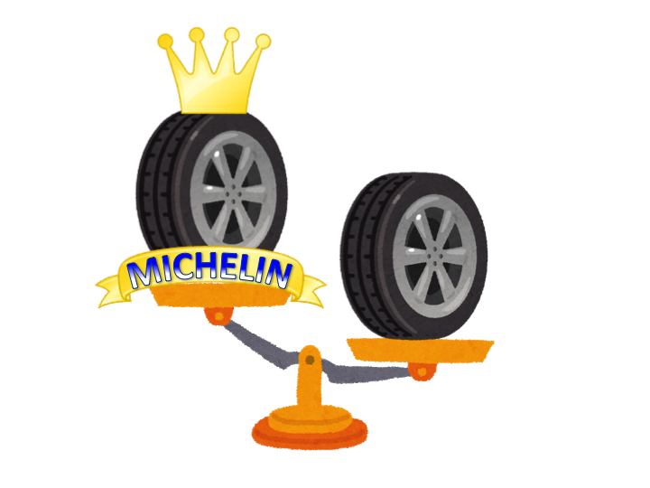 ミシュラン(MICHELIN)タイヤ 軽量