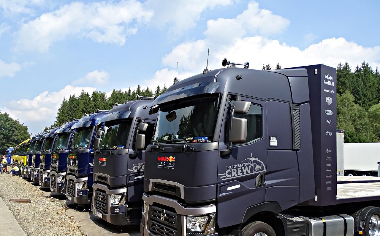 トラック サービスエリア