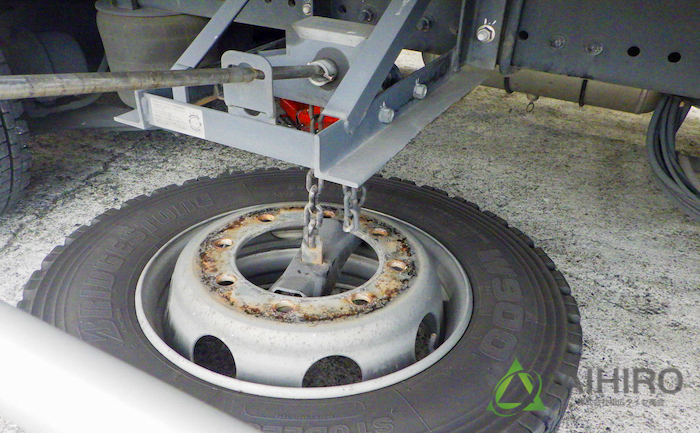 スペアタイヤ 交換 工具