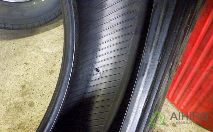 タイヤ 亀裂 修理
